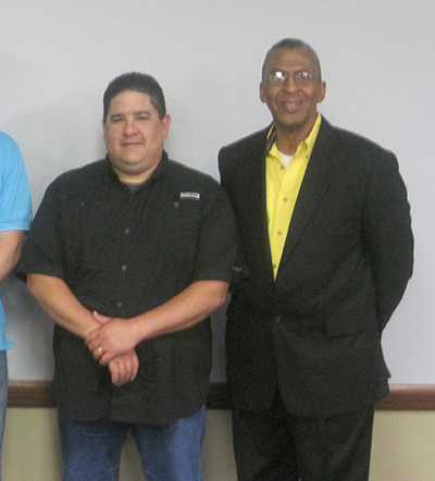 API Spec. Q1 Training - Raymond Luna (Cactus Wellhead) and Joe Wiltz (QSI Instructor)