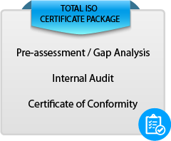 Total ISO 9001:2015 Certificate Package